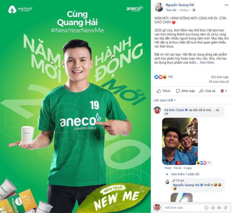 """AnEco lan tỏa thông điệp tích cực với chiến dịch """"New Year, New Me"""""""