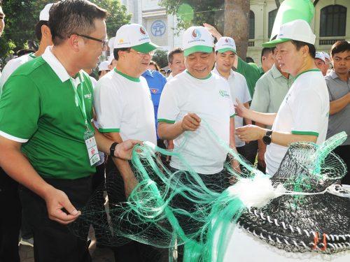 Sản phẩm lưới đánh cá phân hủy sinh học của Tập đoàn An Phát Holdings