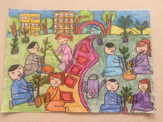 """Ấn tượng tác phẩm tham gia cuộc thi """"Vẽ tương lai xanh"""" do An Phát Holdings khởi xướng"""