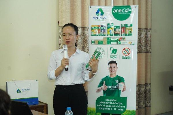 AnEco tham gia tuyên truyền Vệ sinh an toàn thực phẩm tại TP Hải Dương