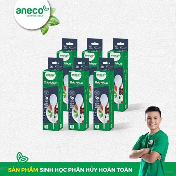 Bộ 6 hộp muỗng sinh học AnEco giá 84.000 đồng