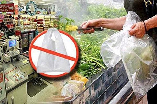 cấm sử dụng túi ni lông