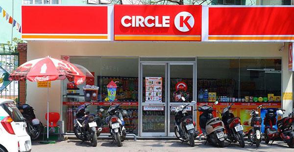 Hệ thống cửa hàng tiện lợi Circle K là nơi bày bán túi tụ hủy sinh học