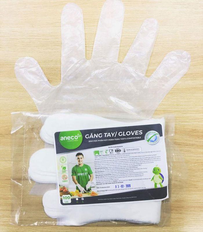 Găng tay sinh học chế biến thực phẩm AnEco