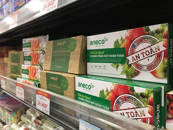 Hãy đến siêu thị gần nhất để mua túi rác sinh học phân hủy hoàn toàn AnEco
