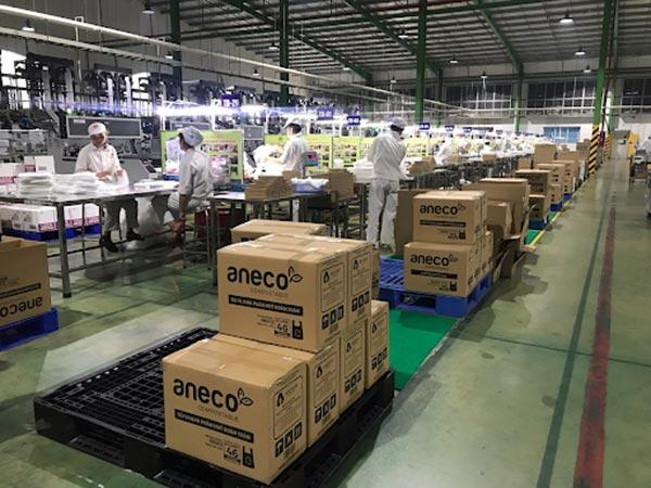 Các sản phẩm túi AnEco xuất hiện nhiều tại các hệ thống siêu thị trên toàn quốc