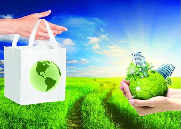 Chung tay sử dụng túi thân thiện với môi trường để bảo vệ Trái Đất