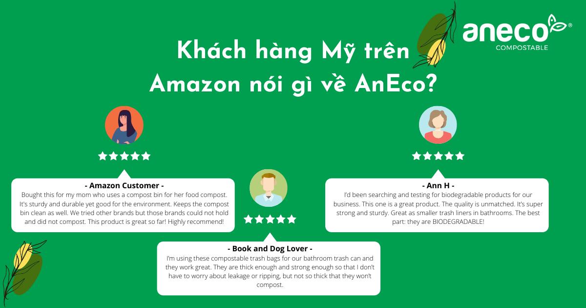 U.S customers on Amazon give positive feedbacks about AnEco