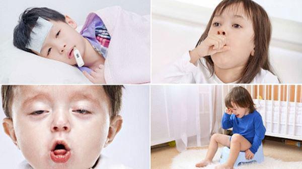 Ảnh hưởng đến hệ hô hấp của trẻ em