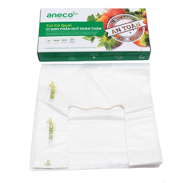 Các loại túi AnEco đang được chào bán trên thị trường chính là loại túi bột ngô có khả năng phân huỷ sinh học hoàn toàn.