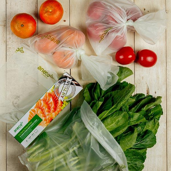 Túi đựng thực phẩm sinh học phân hủy hoàn toàn AnEco