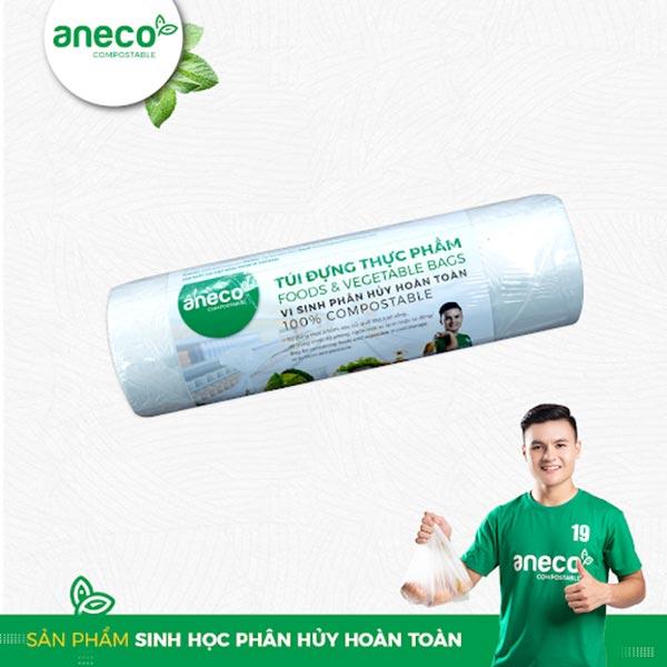 Túi đựng thực phẩm với nguyên liệu bột ngô của AnEco
