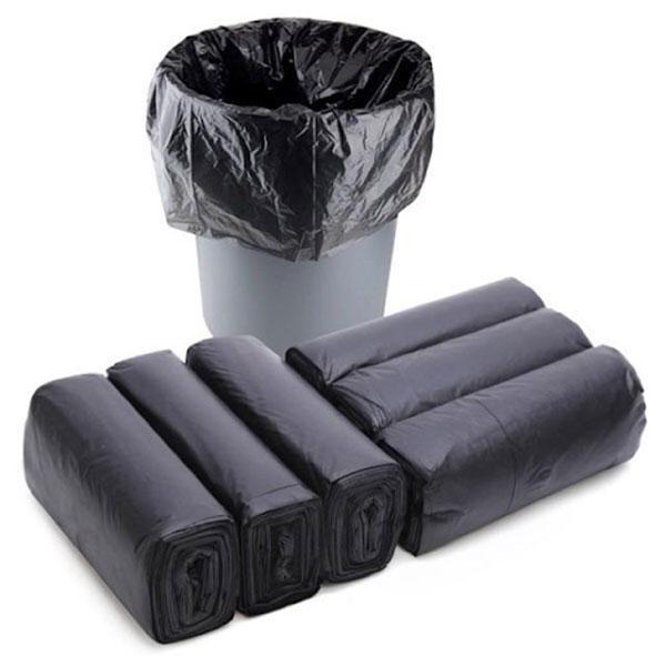 Túi rác đen là vật dụng đựng rác phổ biến trong đời sống hàng ngày