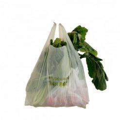 Túi shopping phân hủy sinh học AnEco đóng gói dạng thếp
